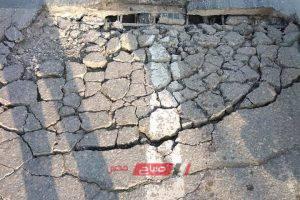 كوبري محرم بك – لجنة هندسية تعاين الانهيار الجزئي