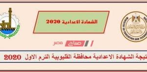 نتيجة الشهادة الإعدادية محافظة القليوبية 2020