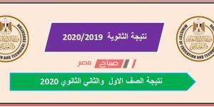 نتيجة شهادة الصف الاول والثاني الثانوي محافظة الجيزة 2020