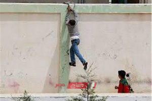 عاطل يقتحم مدرسة بنات في دمياط والمدير يستدعي الشرطة