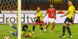 مباراة الأهلي و المقاولون العرب