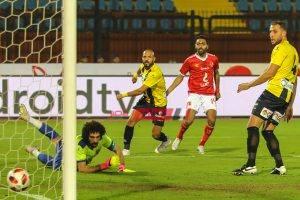 نتيجة مباراة الأهلي و المقاولون العرب الدوري المصري الممتاز