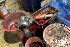 ضبط 10 طن معسل مغشوش في مصنع  غير مرخص في الإسكندرية