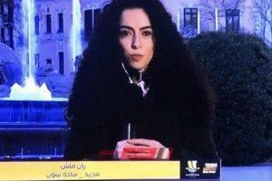 إيقاف رزان ملش مذيعة قناة الرياضية بعد وصفها السعوديين بـ الدواعش