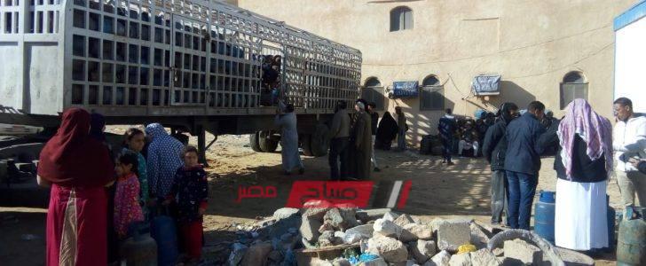 إنفراج أزمة أسطوانات البوتاجاز في مطروح