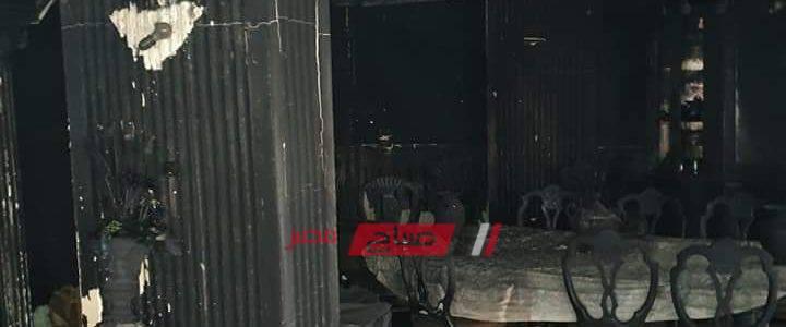 بعد وفاته مختنقاً – المعاينة تؤكد تفحم الطابق الخاص بوالد الفنان إيهاب توفيق بالكامل