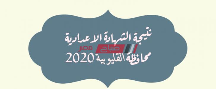 موعد إعلان نتيجة الصف الثالث الاعدادي محافظة القليوبية نهاية العام 2020
