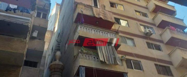 إصابة عروسان فى انهيار شرفة الشقة سكنهما في الطابق الخامس في الإسكندرية