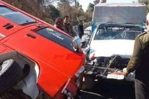 بالأسماء إصابة 10 أطفال فى حادث تصادم سيارتين في القليوبية