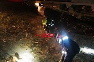 إصابة 36 مواطن في انقلاب قطار ركاب خط محرم بك – الضبعة عن القضبان