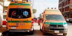 إصابة 7 مواطنين فى حادث