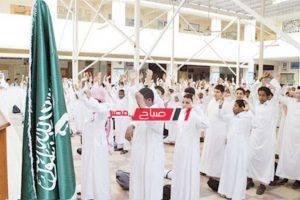إلغاء طابور الصباح يومي الثلاثاء والأربعاء في مدارس المجمعة بالسعودية بسبب الطقس السيء
