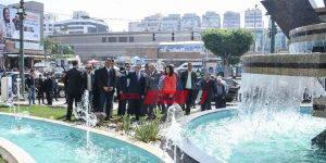 افتتاح أعمال تطوير ميدان سيدى جابر1
