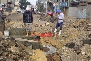 رئيس محلية كفر البطيخ بدمياط: تنفيذ الخطة الاستثمارية لرصف الطرق وتغيير خط وبالوعات المياه