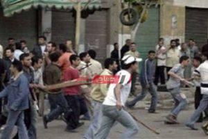 بلطجية يعتدون على شخص بالضرب وإلقائه من شرفة منزله فى منطقة العصافرة