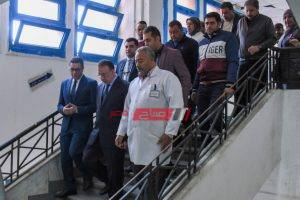 تحويل طاقم قسم استقبال طوارئ مستشفى القبارى إلى التحقيق بأمر محافظ الإسكندرية
