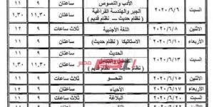 جدول امتحانات الشهادة الثانوية الأزهرية النهائي 2020 علمي