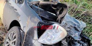 حادث تصادم مروع في دمياط