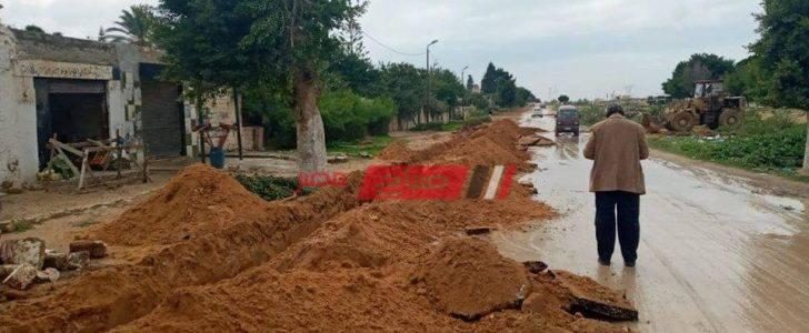 إيقاف أعمال حفر وشن حملات إزالة إشغالات بنطاق حى العامرية ثان في الإسكندرية