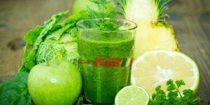 سموذي الشاي الأخضر