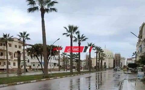 موجة من الأمطار الغزيرة  والرياح النشطة تضرب دمياط