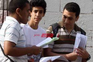 تسليم استمارات طلاب الثانوية العامة للكنترولات نهاية مارس القادم