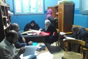 لجنة المتابعة المحلية تتفقد سير العمل في مراكز شباب كفرالبطيخ بدمياط