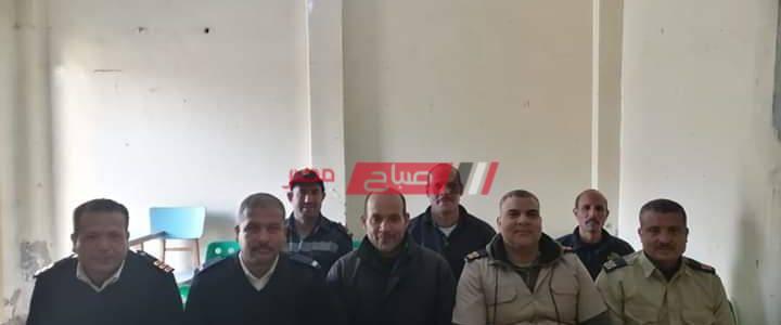ندوه تثقيفيه لأمناء الشرطة وأفراد الأمن  عن فيروس كورونا بدمياط