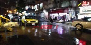 هطول أمطار متوسطة ورياح باردة على الإسكندرية