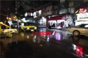 هطول أمطار متوسطة ورياح باردة على الإسكندرية تعرف على التفاصيل