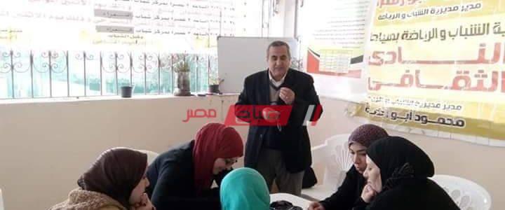عقد ورشه عمل بعنوان كيفية  كتابة الخط العربى في دمياط