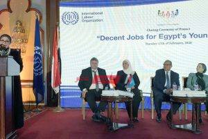 تفاصيل فعاليات المؤتمر الختامي لمشروع وظائف لائقة لشباب مصر
