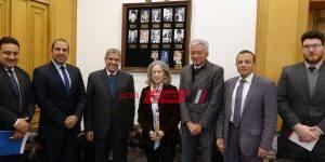 سفيرة البرتغال مع أعضاء اتحاد الغرف التجارية