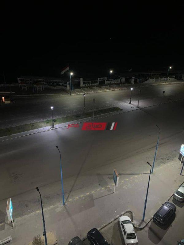 الإسكندرية فى أول يوم حظر تجوال خالية من المواطنين- صور