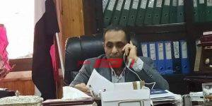 الدكتور محمود طلحة وكيل وزارة الصحة بدمياط