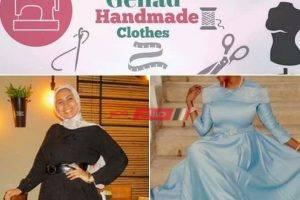 بالإبرة والفتلة تحيي جهاد كلاسيكية الزمن الجميل في الملابس