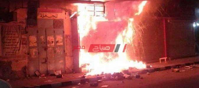 السيطرة علي حريق نشب داخل شقة سكنية دون اصابات بالصف