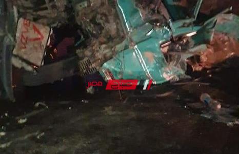 مصرع 18 شخص وإصابه 14 بحادث مروع علي الدائري الإقليمي