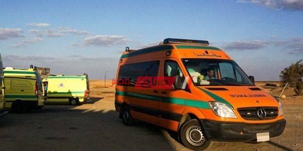 إصابة 5 أشخاص في حادث تصادم في قنا