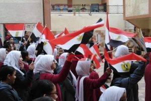 إحياء ذكرى يوم الشهيد في مدارس الإسكندرية – صور