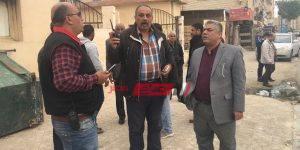 مدير مديرية التموين و رئيس مجلس مدينة مطروح خلال الجولة