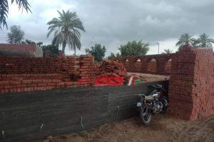 إزالة 11 مقبرة بقرية جمصة في دمياط للبناء على أراضي الدولة