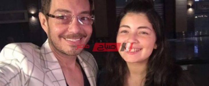 احمد زاهر يهنأ ابنته ليلى على مسلسل الفتوة