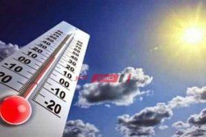 درجات الحرارة المتوقعة اليوم الأثنين 28 سبتمبر فى الإسكندرية