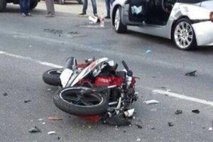 دراجة بخارية تدهس طالبة في دمياط الجديدة وتصيبها بإصابات خطيرة