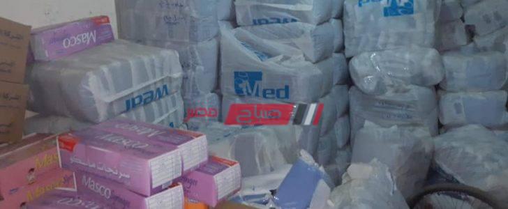 حى شرق يضبط مخزن مستلزمات طبية بدون ترخيص في الإسكندرية