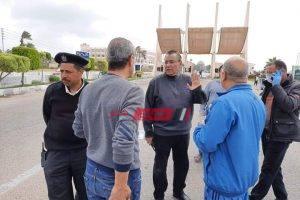 بعد تجديد الثقة رئيس محلية راس البر يقود حملة مكبرة لإزالة مخالفات سوق 101 والامتداد العمراني