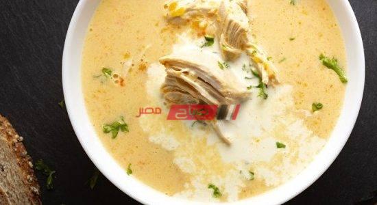 طريقة عمل شوربة دجاج بالكريمة
