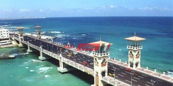 طقس الإسكندرية غداً: مائل للحرارة وارتفاع نسبة الرطوبة العظمى 30 درجة