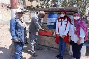 مدرسة بدمياط تطلق مبادرة لمواجهة كورونا